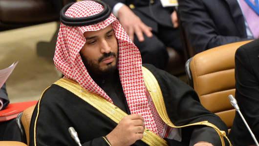 Saudi Arabian Prince Mohammad bin Salman.