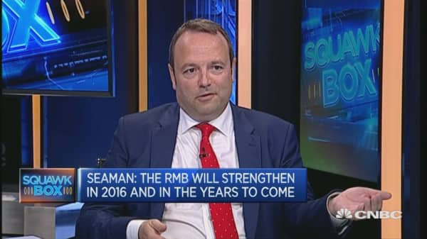 Bullish on the RMB