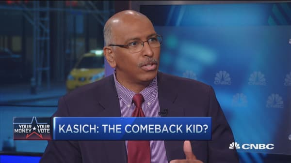 The problem Cruz has: Michael Steele