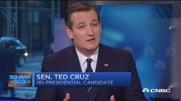 Global warming a religion, not science: Ted Cruz