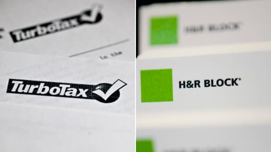 Turbo Tax and H&R Block