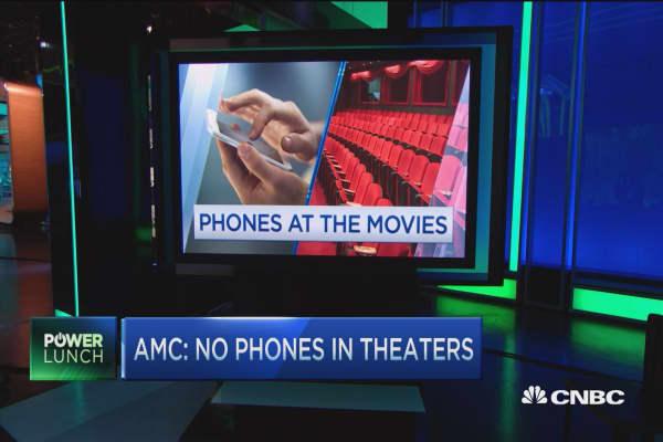 AMC: No phones in theaters