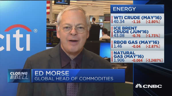 Citi's Ed Morse: Expect sharp oil selloff if no deal in Doha