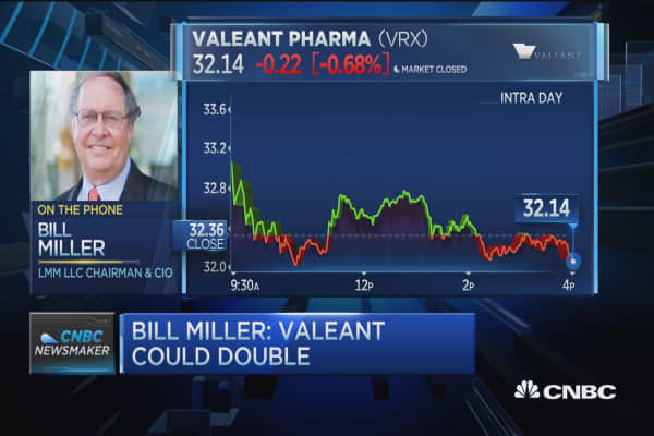 Bill Miller: Valeant could double