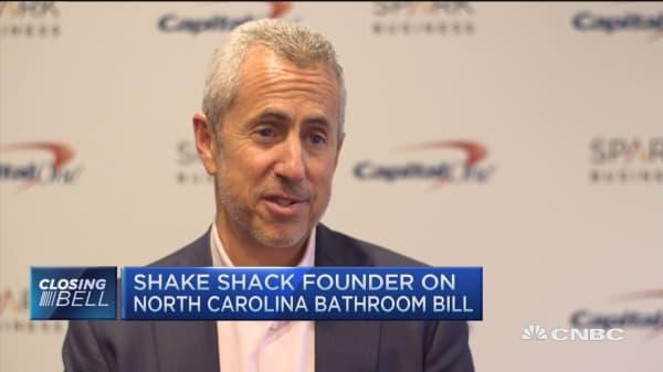 Shake Shack's Meyer 'loves' burger competition