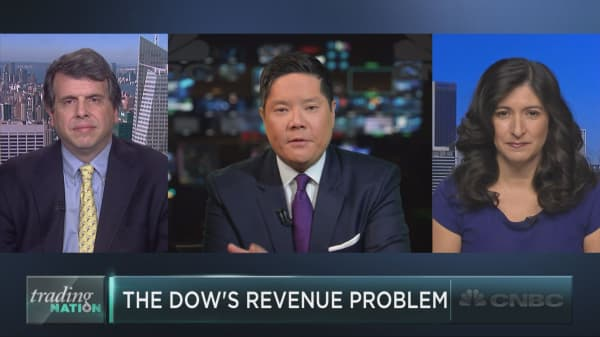 The Dow's big revenue problem