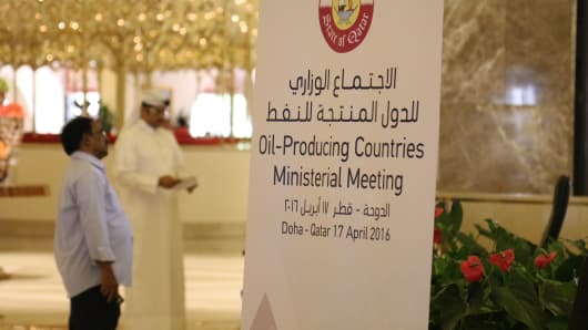 Registration begins for the Oil Producing Countries Ministerial Meeting in Doha, Qatar.