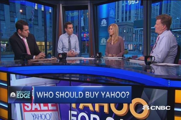 Executive Edge: Yahoo bidders