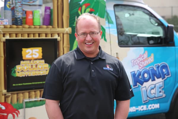 Tony Lamb shares the success story of his company Kona Ice, a shaved ice store on wheels.