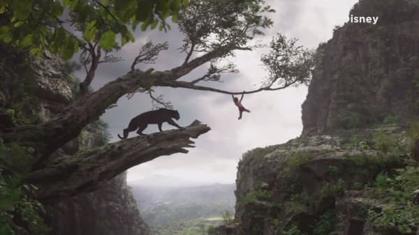 'Jungle Book' rakes in $103.6M opening weekend