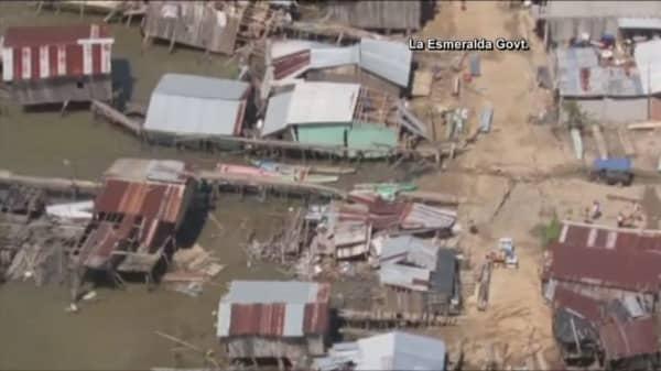 Ecuador shaken by earthquake