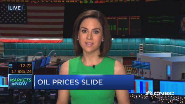 Oil slides on no deal in Doha