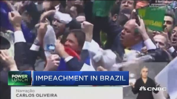 Implications from impeachment in Brazil
