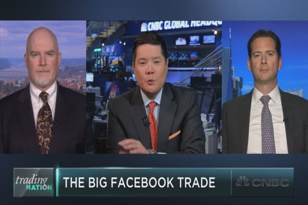 The big trade on Facebook