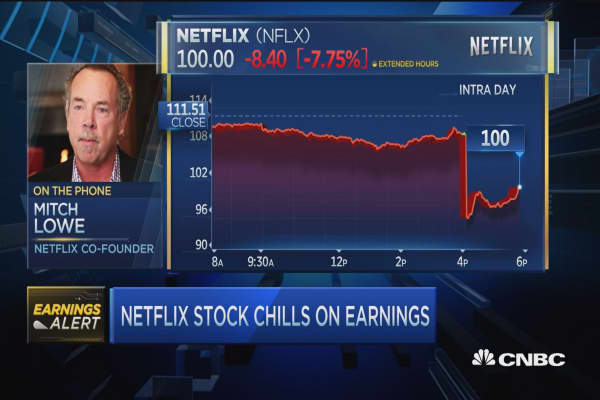 Netflix co-founder: Momentary lull but Netflix will surge back up