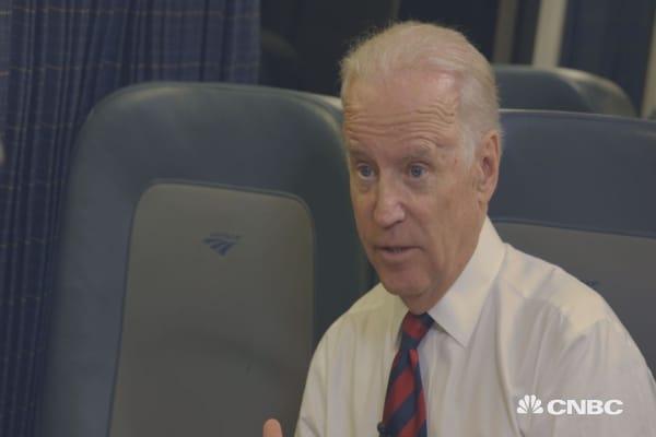Biden: Not ashamed of the '94 crime bill