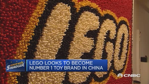 Lego's attempt to break into China