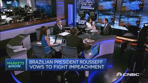 Brazil is in the middle of recession: Expert