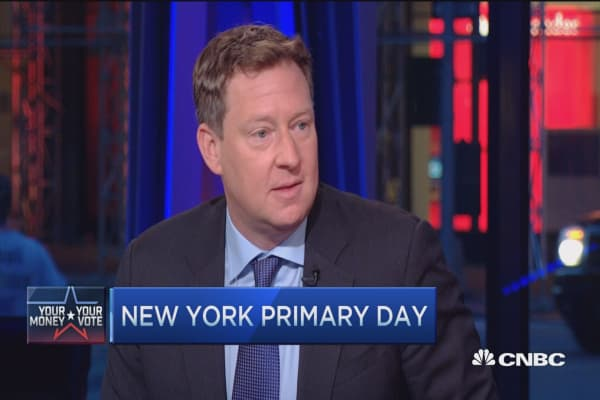 Primary day in the Empire State