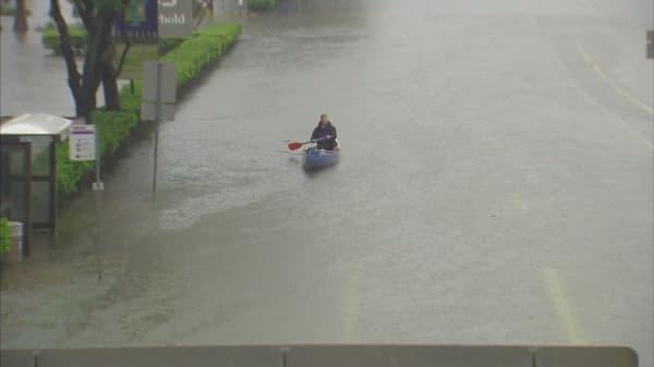 Houston hit by historic flood