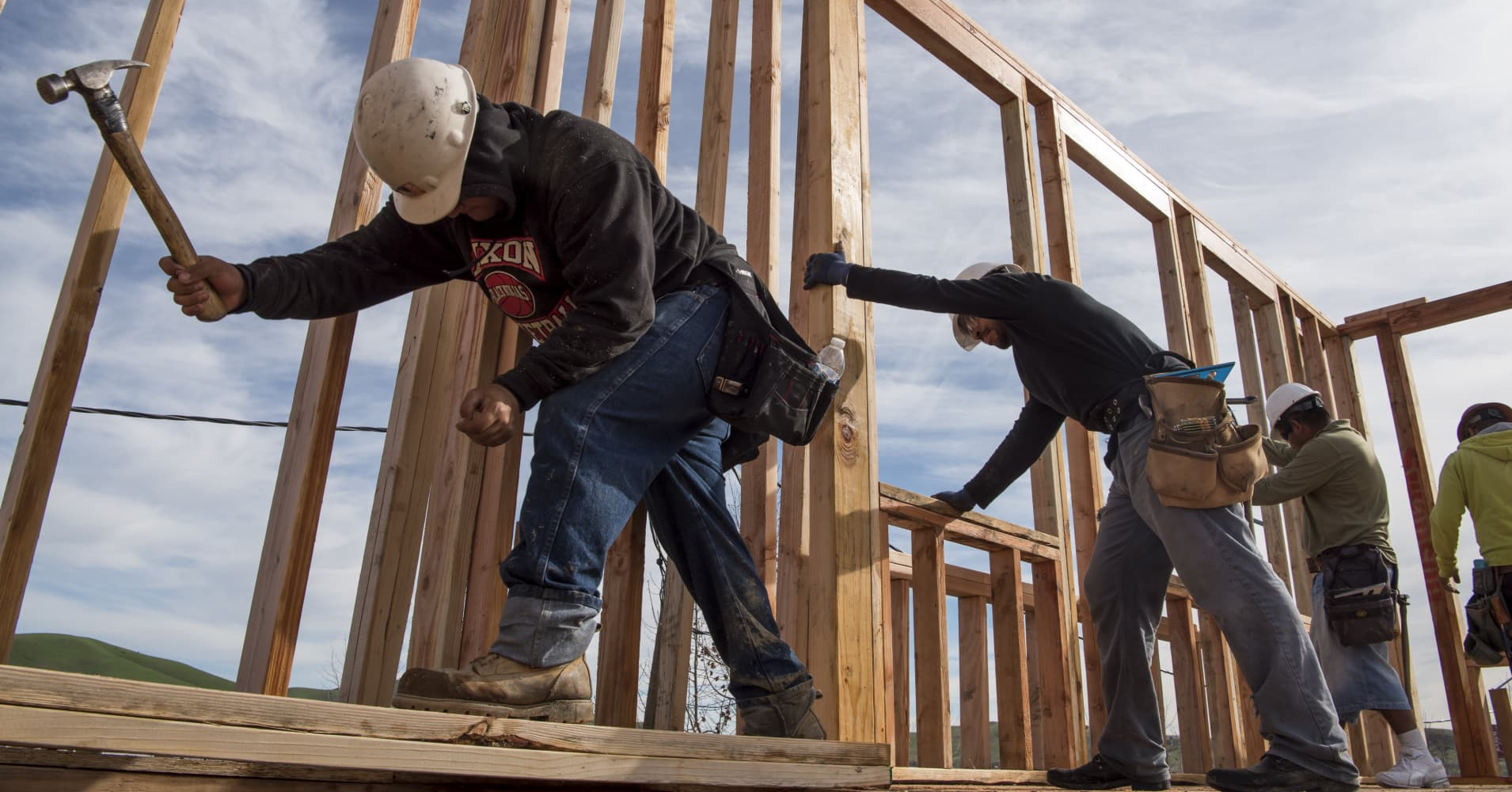 Bank of America downgrades homebuilder stocks as Wall Street grows increasingly bearish on housing