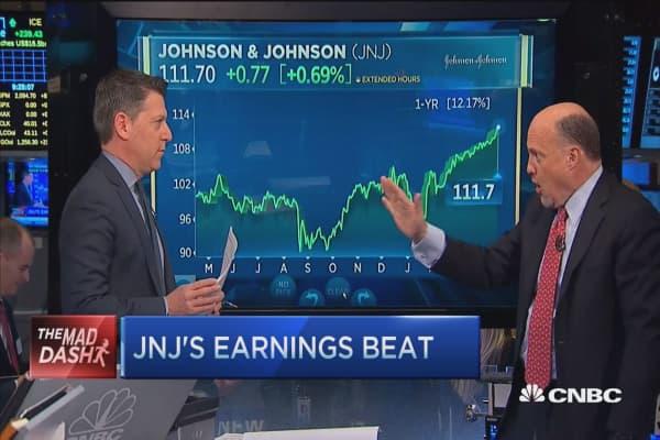 Cramer's Mad Dash: JNJ's mojo