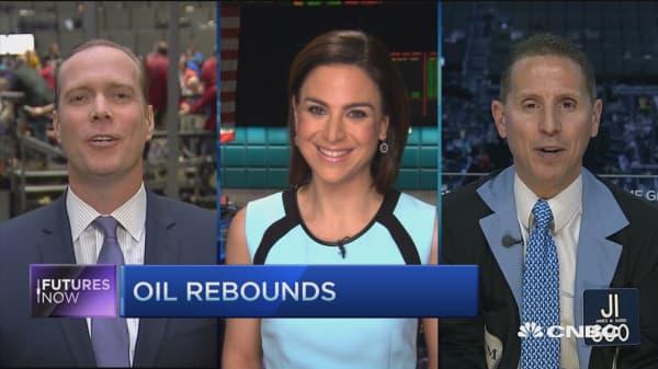 Futures Now: Oil rebounds