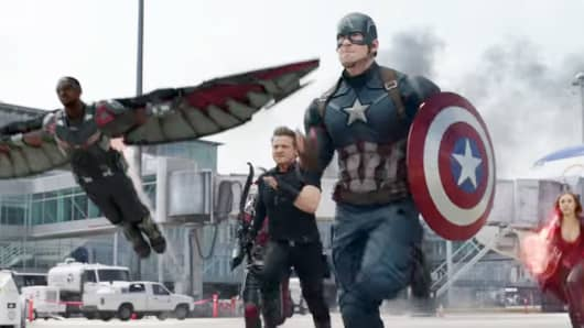 """Captain America: Civil War"" expects to have a massive debut."