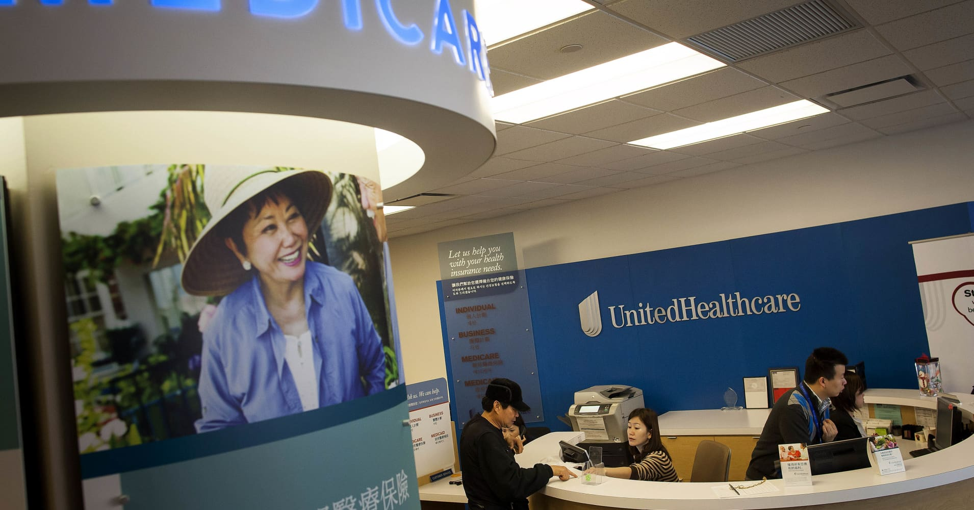 UnitedHealth shares rise after posting rise in third-quarter profit