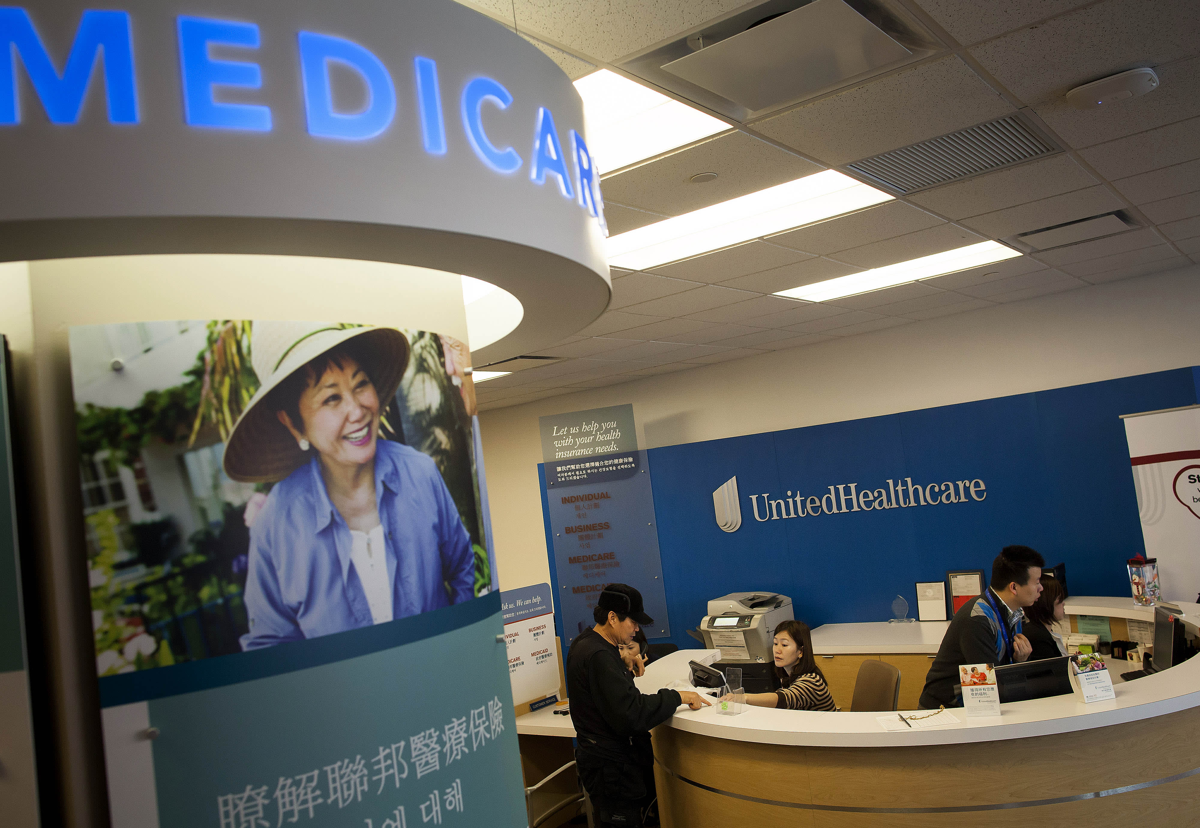 Health Insurer Unitedhealths Quarterly Profit Rises 306