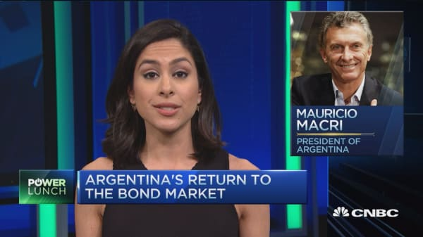 Argentina's return to the bond market