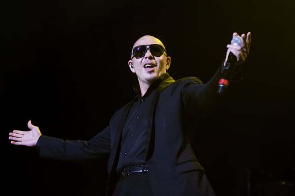 American rapper Pitbull