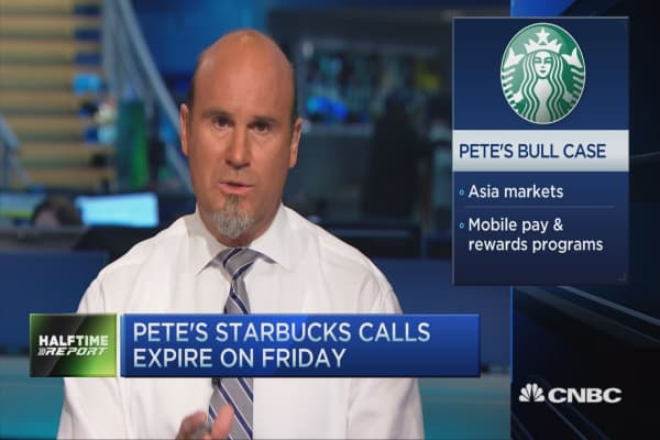 Pete's bullish bet on Starbucks