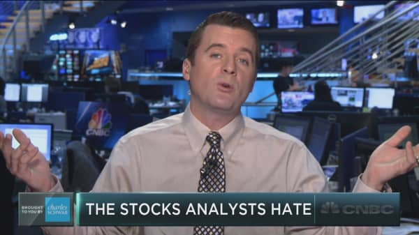 The stocks that analysts hate