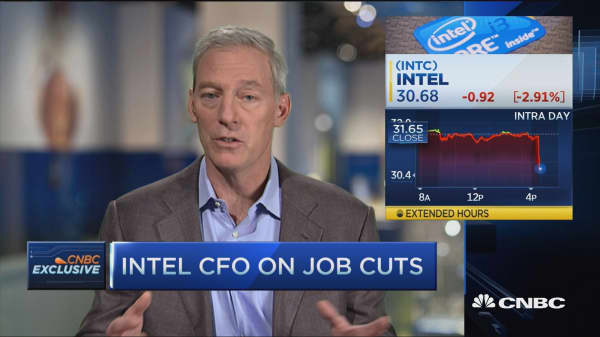 Intel CFO: Job cuts tough but right decision