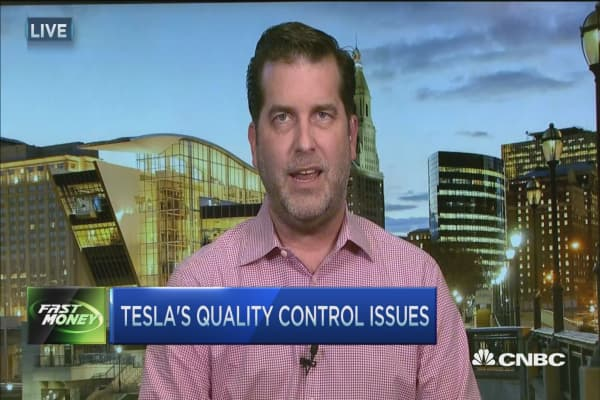 Tesla's quality control issues