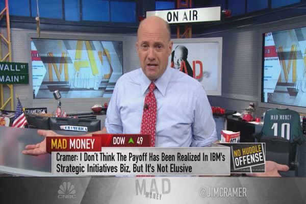 Cramer: Damage to IBM, Netflix hard to reverse