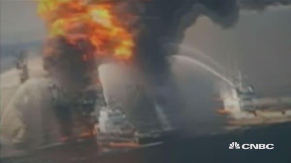 BP oil spill anniversary
