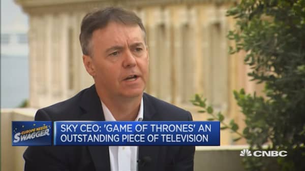 Who better to partner with than HBO: Sky CEO