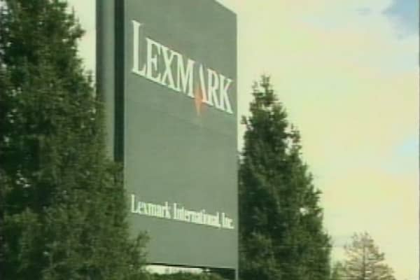 Lexmark gets bought for $2.54B