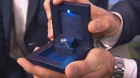 Start Up Proposes A Secret Box For Your Engagement Ring