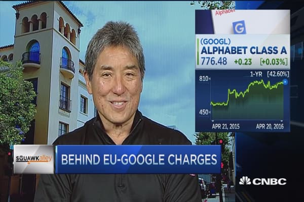 Kawasaki on GOOG: Other things to worry about in the EU