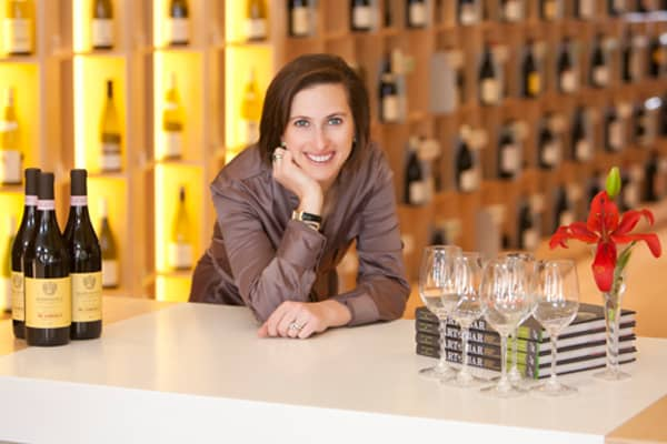 Sharon Sevrens founder of Amanti Vino in Montclair, NJ.