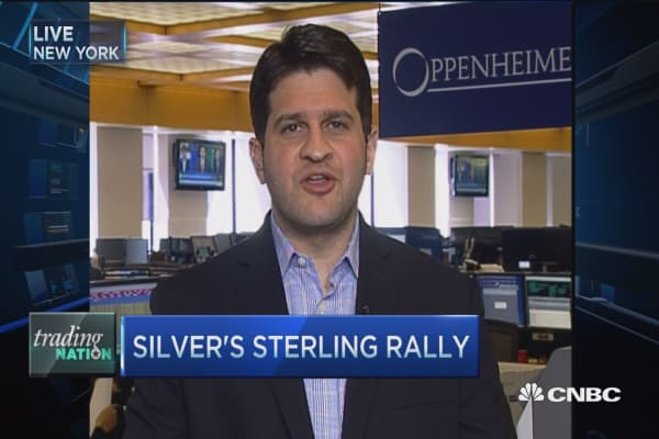 Trading Nation: Silver's sterling rally