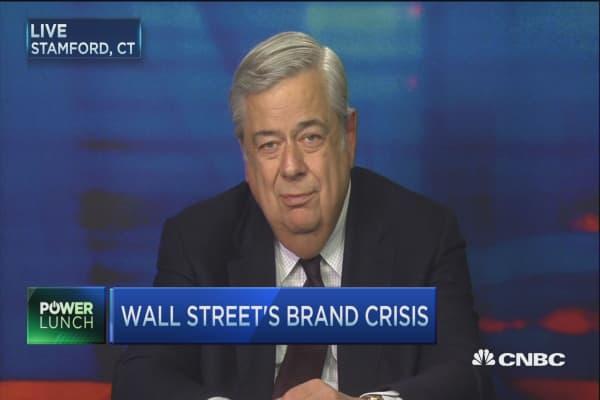 Wall Street's brand crisis
