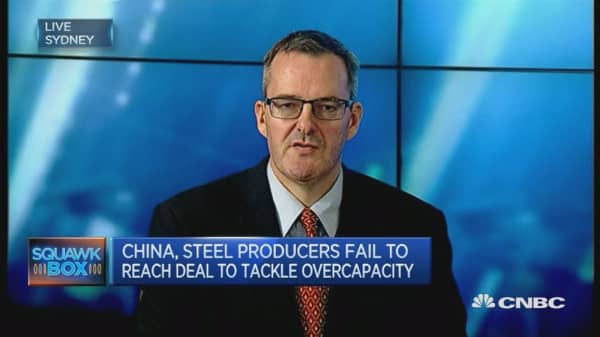 China Steel Producers