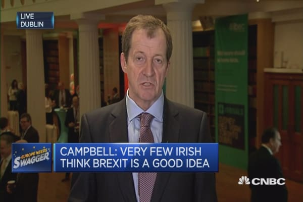 British will vote to stay in the EU: Alastair Campbell