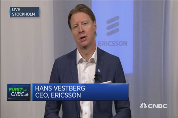 Ericsson is in transformation phase: CEO