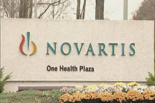 Novartis profits hurt from generic drug competition