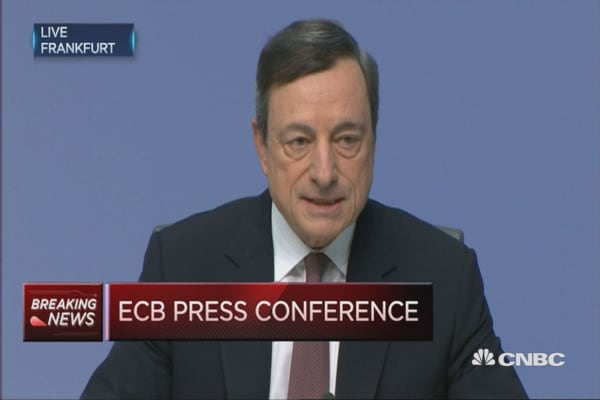 ECB rates remain unchanged